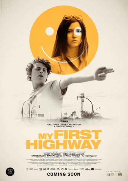 Poster van My First Highway