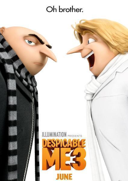 Poster van Despicable Me 3 (OV)