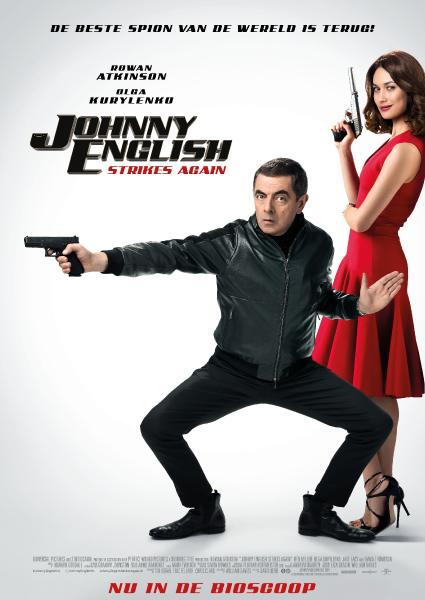 Poster van Johnny English Strikes Again (EN)