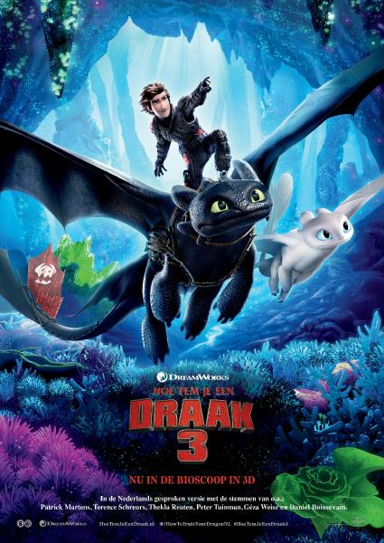 Poster van How To Train Your Dragon 3 OV (EN)