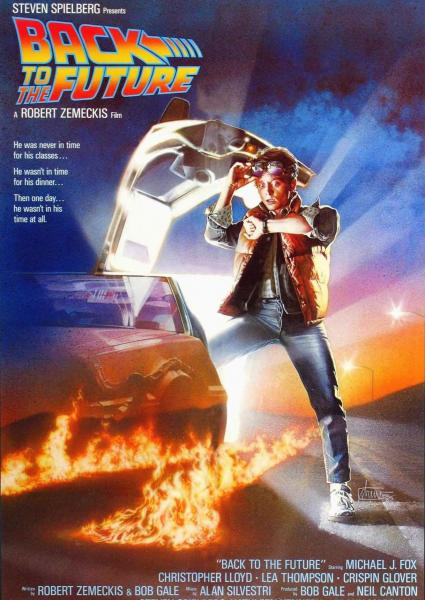 Poster van Back to the Future (EN)
