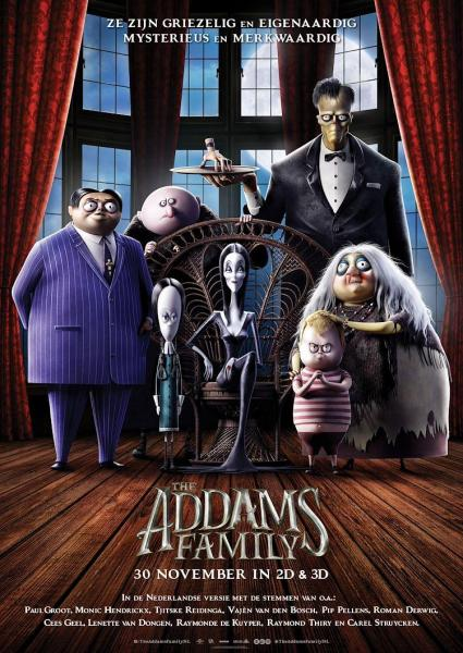 Poster van The Addams Family EN (OV)